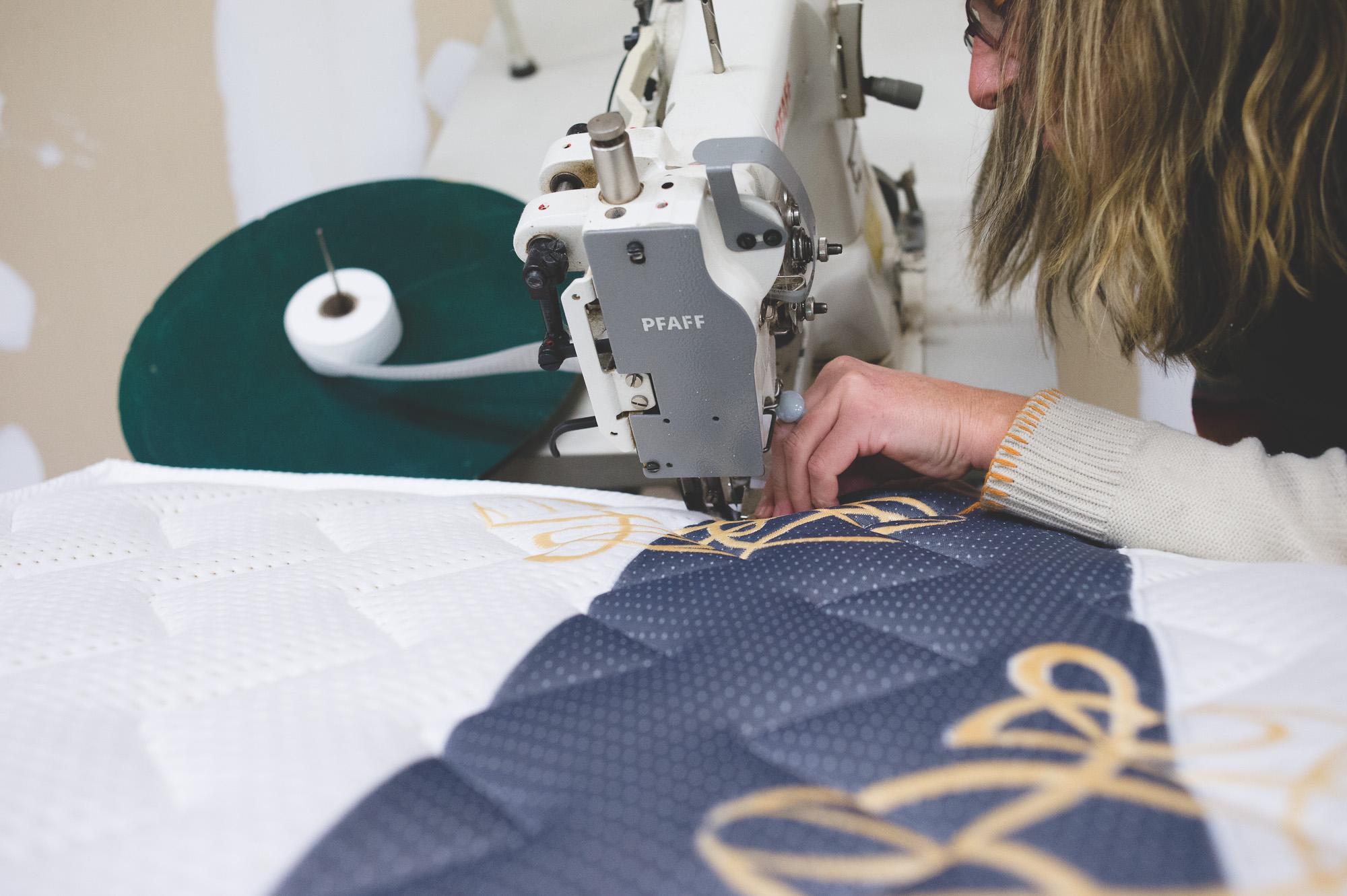 Nathalie Gamblin, fabrication française de lits, matelas et sommiers sur mesure Aytré - La Rochelle - Charente-Maritime - Literie Gamblin