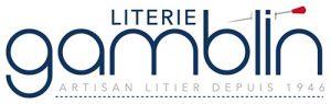 Logo Gamblin, maître litier, fabrication de lits, matelas et sommiers sur mesure toutes dimensions