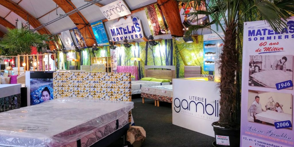 salon literie gamblin, foire exposition la rochelle 2019